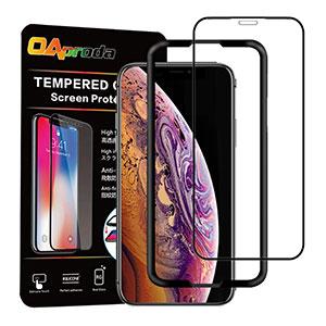 <【改善版】OAproda iPhone XS Max 全面保護フィルム>