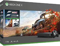 <Xbox One X Forza Horizon 4/Forza Motorsport 7 同梱版>