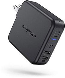 <RAVPower モバイルバッテリー 充電器 6700mAh 急速充電>