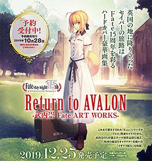 <Return to AVALON -武内崇Fate ART WORKS->