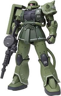 <GUNDAM FIX FIGURATION METAL COMPOSITE 機動戦士ガンダム MS-06C ザクⅡ C型>
