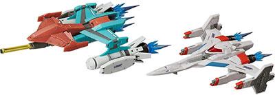 <figma ギャラクシアン/ギャラガ Galaxian Galaxip GFX-D001a / Galaga Fighter GFX-D002f >