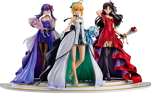 <「Fate/stay night」 ~15th Celebration Project~ セイバー 遠坂凛 間桐桜 ~15th Celebration Dress Ver.~ Premium Box>