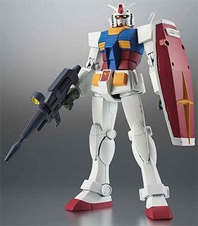 <ROBOT魂 機動戦士ガンダム [SIDE MS] RX-78-2 ガンダム ver. A.N.I.M.E. [BEST SELECTION] >