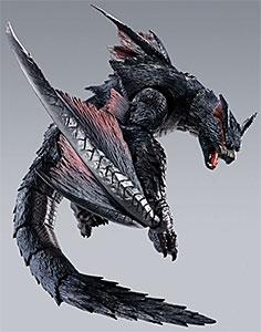 <【特典】S.H.MonsterArts ナルガクルガ 『モンスターハンターワールド:アイスボーン』[BANDAI SPIRITS] >