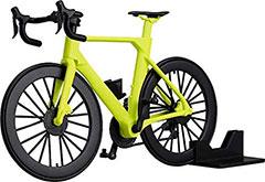 <figma+PLAMAX figma Styles ロードバイク [ライムグリーン] 1/12スケール ABS&PS製 組み立て式プラスチックモデル>
