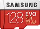 <Samsung EVO Plus 128GB microSDXC UHS-I U3>