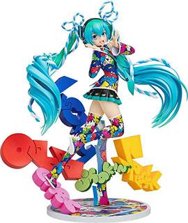 <キャラクター・ボーカル・シリーズ01 初音ミク 初音ミク MIKU EXPO 5th Anniv. / Lucky☆Orb UTA X KASOKU Ver. 1/8スケール ABS&PVC製 塗装済み完成品フィギュア>