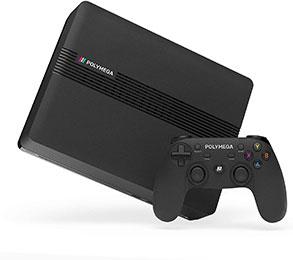 <Polymega 本体ベースユニット + ワイヤレスコントローラ セット Base Unit + Wireless Controller Black PM01-00>