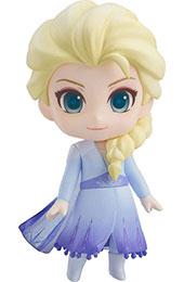 <ねんどろいど アナと雪の女王2 エルサ Blue dress Ver. ノンスケール ABS&PVC製 塗装済み可動フィギュア>