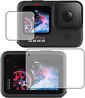 <PDA工房 GoPro HERO9 Black Crystal Shield 保護 フィルム [メイン/サブ用] 光沢 日本製>