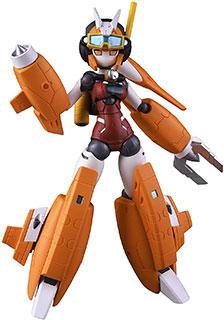 <ロボット新人類ポリニアン モートロイド マグアナ ノンスケール PVC&ABS製 塗装済み可動フィギュア>