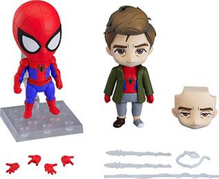 <ねんどろいど スパイダーマン スパイダーバース ピーター・パーカー スパイダーバースVer. DX ノンスケール ABS&PVC製 塗装済み可動フィギュア>