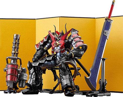 <HAGANE WORKS マジンカイザー マジンカイザー刃皇 魔陣セット 亜鉛合金&ABS製 塗装済み完成品フィギュア>