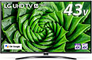 <LG 43型 4Kチューナー内蔵 液晶 テレビ 43UN8100PJA IPS パネル Alexa搭載 2020 年モデル>