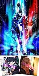 <【Amazon.co.jp限定】SSSS.GRIDMAN Blu-ray BOX(L判ビジュアルシート5枚セット+描き下ろし絵柄使用メガジャケ2枚セット付)>