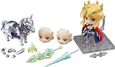 <ねんどろいど Fate/Grand Order ランサー/アルトリア・ペンドラゴン&ドゥン・スタリオン ノンスケール ABS&PVC製 塗装済み可動フィギュア >