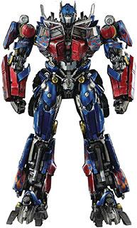 <Threezero Transformers: Revenge of the Fallen – DLX Optimus Prime/トランスフォーマー リベンジバージョン DXL オプティマスプライム POM&ABS&PVC&亜鉛合金製 塗装済み可動フィギュア>