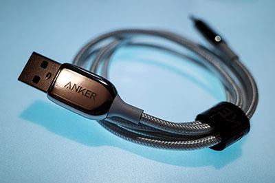 <Anker iPhone 充電ケーブル PowerLine+ III ライトニングケーブル Apple MFi認証取得 iPhone iPad iPod AirPods 互換対応 (0.9m シルバー)>