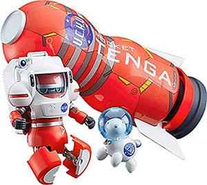 <TENGAロボ スペースTENGAロボ DXロケットミッションセット ノンスケール ABS製 塗装済み完成品変形トイ>