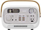 <[オーキー] 充電器 ポータブル電源 Power Studio 300 297wh ホワイト PS-RE03 WT>