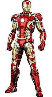 <Infinity Saga (インフィニティ・サーガ) 1/12 Scale DLX Iron Man Mark 43 [1/12スケール DLX アイアンマン・マーク43] 1/12スケール ABS&PVC&亜鉛合金&その他の金属製 塗装済み可動フィギュア>
