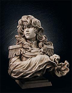 <【限定販売】【特典】銀河英雄伝説 ラインハルト・フォン・ローエングラム胸像[トップス]>