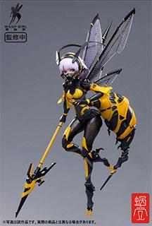 【特典】BEE-03W WASP GIRL ブンちゃん 1/12 完成品アクションフィギュア[蝸之殼スタジオ]
