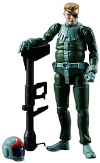 <G.M.G.(ガンダムミリタリージェネレーション) 機動戦士ガンダム ジオン公国軍 04 ノーマルスーツ兵士 約100mm PVC製 塗装済み可動フィギュア>