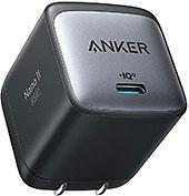 <Anker Nano II 45W (PD 充電器 USB-C)【独自技術Anker GaN II採用/PD対応/PPS規格対応/PSE技術基準適合/折りたたみ式プラグ】MacBook PD対応Windows PC iPad iPhone Galaxy Android スマートフォン ノートPC 各種 その他機器対応 (ブラック) >