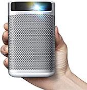 <XGIMI MOGO Pro 世界初Android TV搭載 フルHD1080P ポケット 小型 プロジェクター DLP投影技術 Harman/Kardon 高音質スピーカー内蔵 オートフォーカス 大容量バッテリー 家庭用>