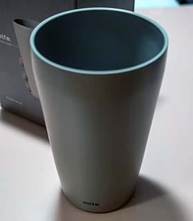 <シービージャパン タンブラー グレー 食洗機対応 350ml 真空断熱 ステンレスタンブラー Mlte>
