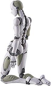 <1/12 東亜重工製 合成人間(女型) 2次生産分 1/12スケール ABS&PVC製 塗装済み完成品 アクションフィギュア>