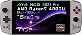 <AYA NEO 2021国内正規版 Windows10搭載ポータブルゲーミングノートパソコン (PRO レトロパワー(Ryzen7 4800U/16GB/1TB)※専用クレードル標準添付)>