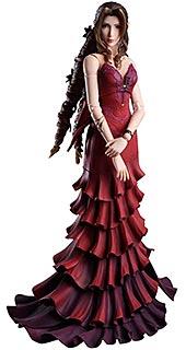 <ファイナルファンタジーVII リメイク PLAY ARTS改 エアリス・ゲインズブール ドレス Ver. PVC製 塗装済み可動フィギュア>